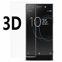 Защитное стекло для Sony Xperia XA1 Plus (G3412) (на весь экран) 3D Transparent
