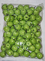Искусственны зеленые яблоки упаковка, муляж фруктов, фрукты для декора