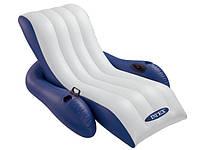 Надувное кресло матрас для плавания 58868 Intex (180х135 см) ZN