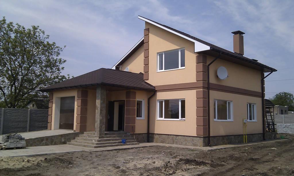 Построенные дома, коттеджи
