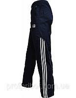 Мужские спортивные штаны Adidas из плащевки без подкладки копия, спортивные штаны