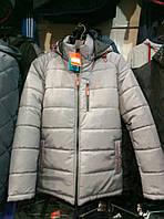 Мужская зимняя куртка Nike из плащевки копия, куртка Найк