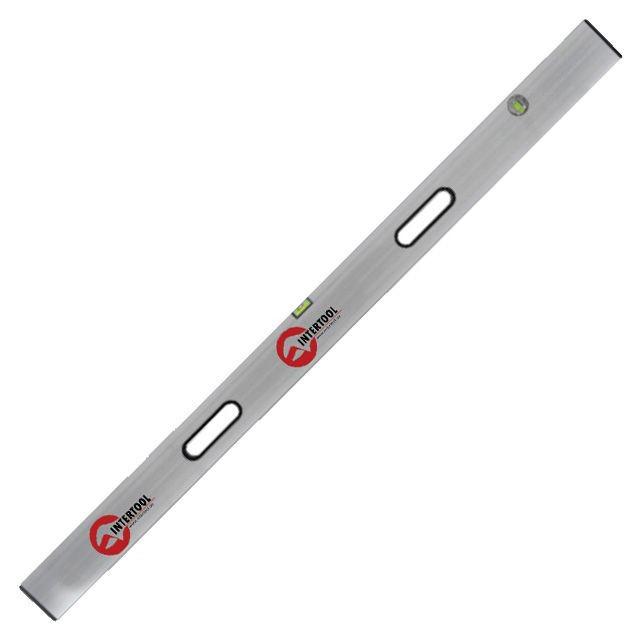 Правило-уровень 250см, 2 капсулы, вертикальный и горизонтальный с ручками Intertool MT-2125