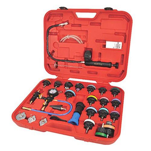 Набор для тестирования давления в радиаторе (многофункциональный) 28 ед.  TOPTUL JGAI2801