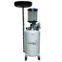 Установка для слива масла с пневмонасосом и мерной колбой (80 л) G.I. KRAFT HD-855