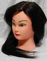 Голова учебная с искусственным термостойким волосам YRE-4-519B YRE