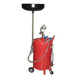 Установка для слива и вакуумной откачки масла (80л.)  G.I. KRAFT B80VS