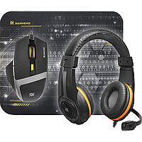 Defender warhead mph-1600 kit mouse+mouse pad+headset (52706)