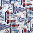 Декоративная ткань для штор, парусники, фото 2