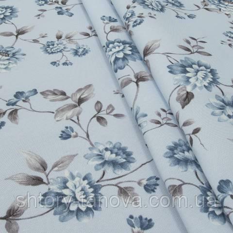 Декоративная ткань для штор, цветы