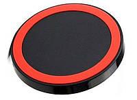 Зарядное устройство USB Besegad QI для Samsung Galaxy S8, S7, S6  Красный