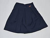 Юбка для девочки, синего цвета 8 р 122-128, фото 1