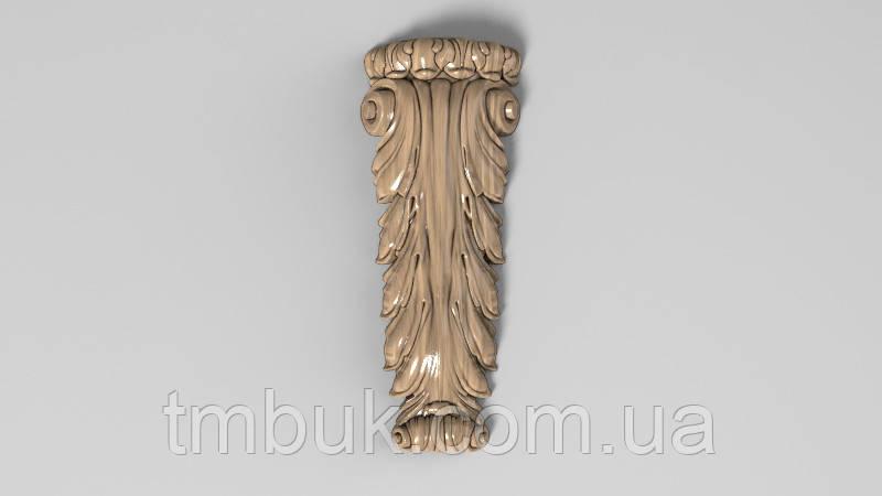 Кронштейн деревянный 17 - 80х200 мм