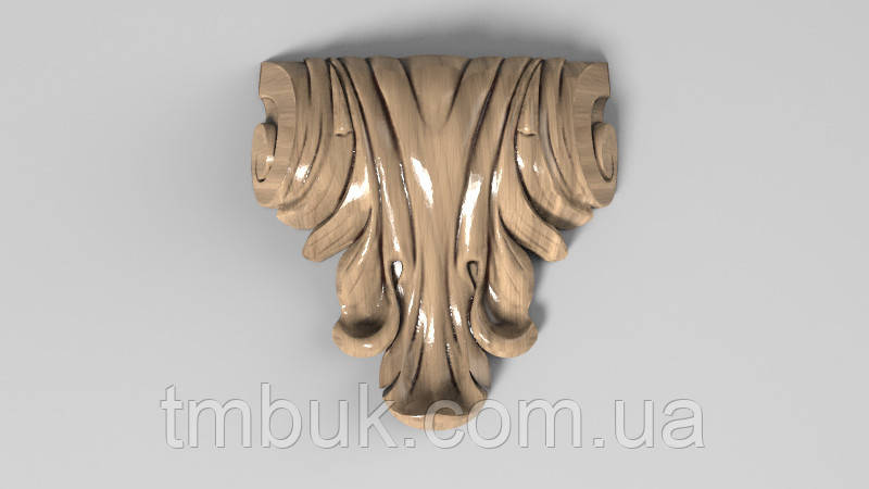 Кронштейн деревянный 16 - 70х70 мм