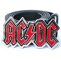 Пряжка AC/DC (red), Комплект поставки товара Пряжка (без ремня)