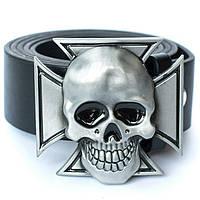 Пряжка Железный крест с черепом, Комплект поставки товара Пряжка (без ремня)