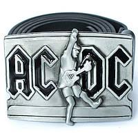Пряжка AC/DC (прямоугольная), Комплект поставки товара Пряжка (без ремня)