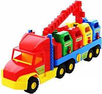 Мусоровоз Super Truck 36530 Wader
