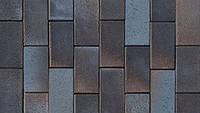 Клинкерная брусчатка АВС Wismar blau-braun-bunt 200/100/52 мм (0715)