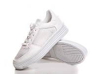 """Летние женские кроссовки """"Nets"""" белый, 23 см"""