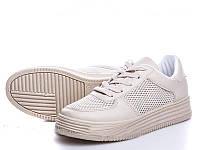 """Летние женские кроссовки """"Nets"""" бежевый, 22.5 см"""