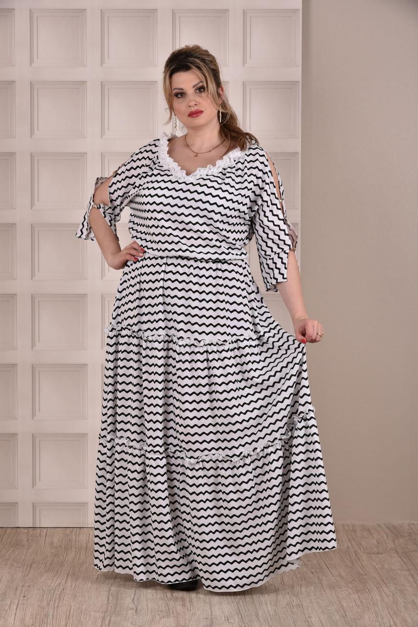 939cf1fc0d29 Полосатое платье в пол 0270-2 - Онлайн 24 - Женская одежда. в Одессе