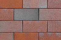 Клинкерная брусчатка АВС Opalblau-geflammt (Eisenschmelz-Bunt-Geflammt) 240/118/52 мм (0861)