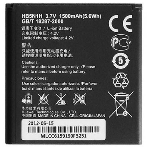 Акумуляторна батарея  HB5N1H для мобільного телефону Huawei U8812D Ascend G302D, U8815 Ascend G300