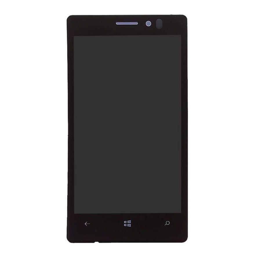 Nokia Lumia 925 дисплей в зборі з тачскріном модуль чорний