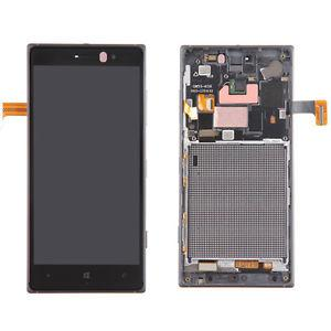 Nokia Lumia 830 дисплей в зборі з тачскріном модуль з рамкою чорний