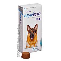 Таблетки Bravecto (Бравекто) от блох и клещей для собак 20-40 кг (1000 мг)