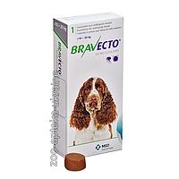 Таблетки Bravecto (Бравекто) от блох и клещей для собак 10-20 кг (500 мг). MSD