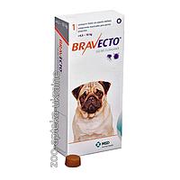 Таблетки Bravecto (Бравекто) от блох и клещей для собак 4.5-10 кг (225 мг)