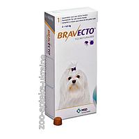 Таблетки Bravecto (Бравекто) от блох и клещей для собак 2-4.5 кг (112.5 мг)