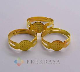 Кольцо(заготовка)  40шт. Цвет: золото.