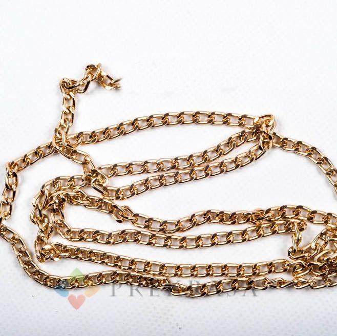 Цепь А247 золото 9х5,5мм. (1м(min50))