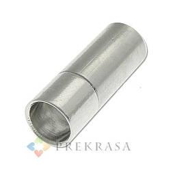 Замочек штифт Размер: 17х5х4 мм, Металл, Цвет: Серебро. 5шт.