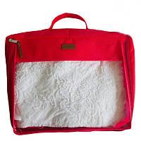 Большая дорожная сумка для вещей, красный