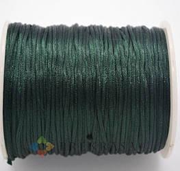 Сутажный шнур круглый 1,5мм, 90м. (зеленый)