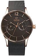 Мужские кварцевые часы Obaku V175GMVBMB1