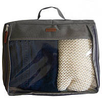 Большая дорожная сумка для вещей, серый