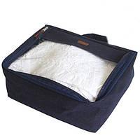 Средняя дорожная сумка для вещей, синий