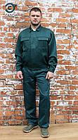 """Костюм рабочий с брюками """"Бриз"""" зеленый, комплект спецодежды"""
