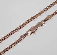 Цепочка плетение Классическое 55 см H-2.5 под советское золото
