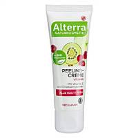 Alterra Peelingcreme Vitamin - Крем - пилинг для лица