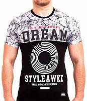Мужская футболка с принтом Валимарк,модная,M,L,XL, XXL , фото 1