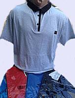 Мужская футболка поло большого размера