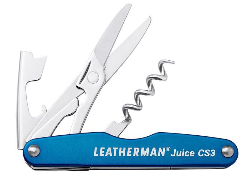 Мультитул Leatherman Juice CS3-COLUMBIA BLUE (синій) в коробці 832370