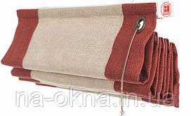 Римские шторы с веревочным управлением