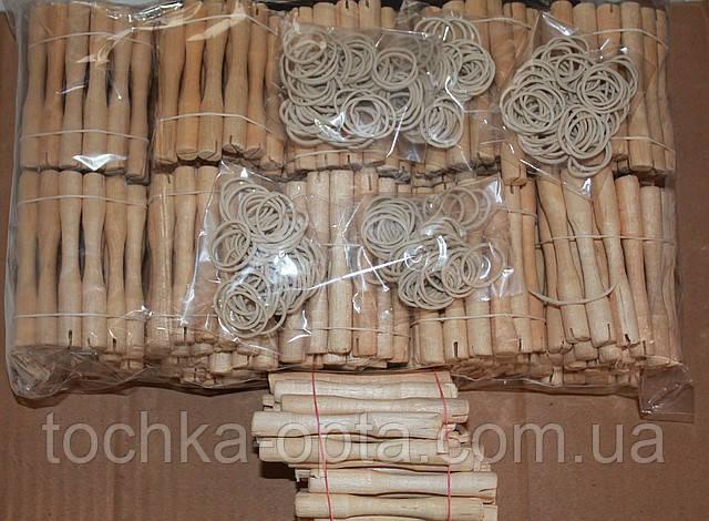 Бигуди коклюшки  деревянные